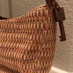 Fossil woven purse